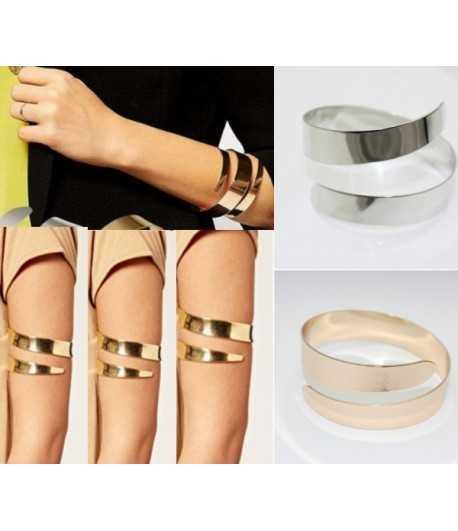 Red Pave Rhinestone Heart Hand Beads & Black Braiding Adjustable Bracelet - B16860
