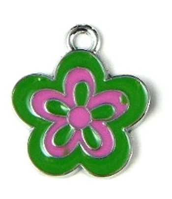 """Nurse"" Heart w/ Pink Rhinestones 7.5"" Clasp Bracelet - 50136"
