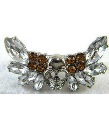 Silver Skull With...