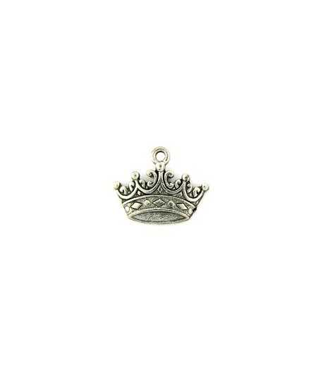 Crown Charm 18x14mm