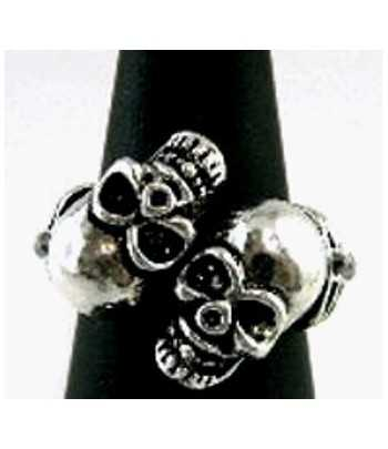 Two Skulls Ring - SNAR-1...