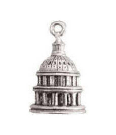 Capital Building Charm
