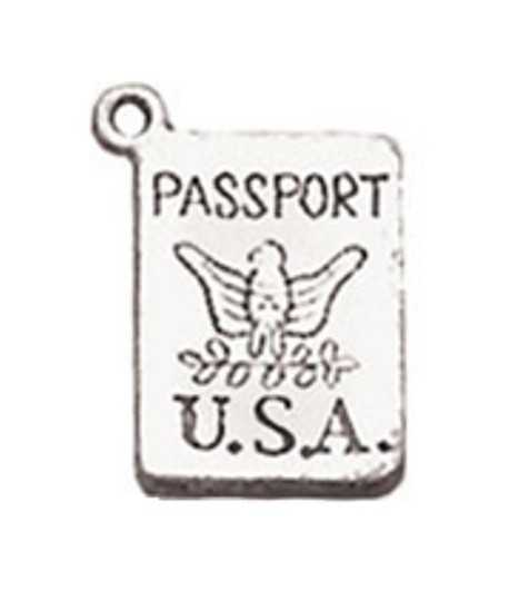 USA Passport Charm