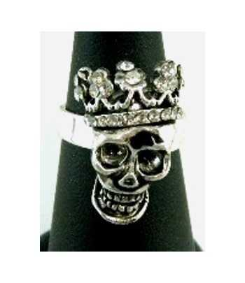 Skull with Crown & Crystals...