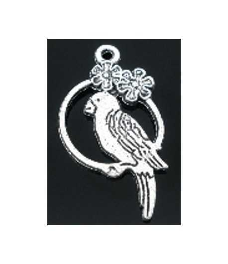 Parrot Charm 28x16mm