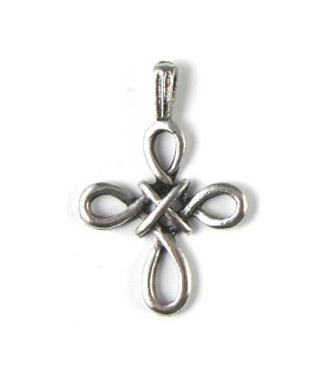 Celtic Cross Charm 40x27mm