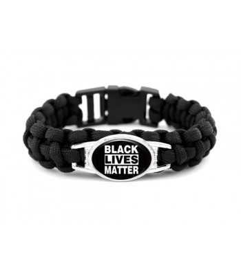 Black Lives Matter Paracord Bracelet