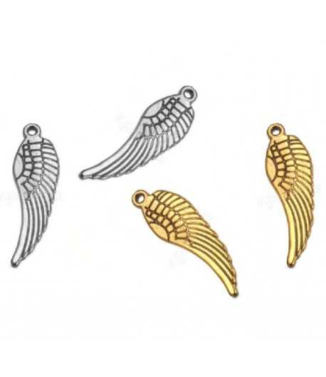 # PDU-3786 31x9mm Angel Wing Charms