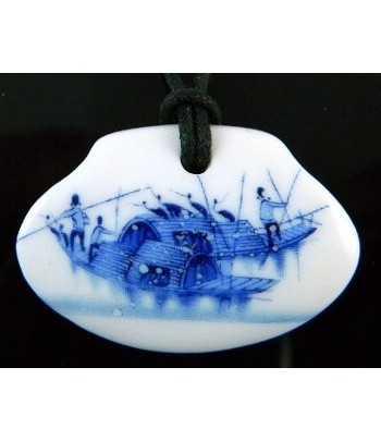 Porcelain Pendant -...