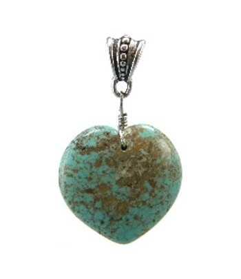 Turquoise Pendant with Bail...