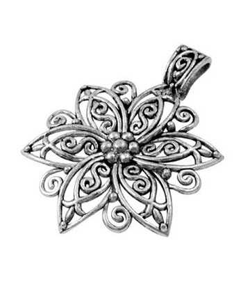 Tibetan Flower Pewter...