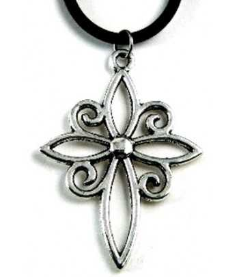 Open Cross Pendant -...
