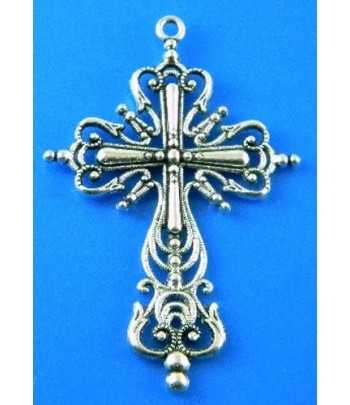 Fancy Large Cross Pendant -...