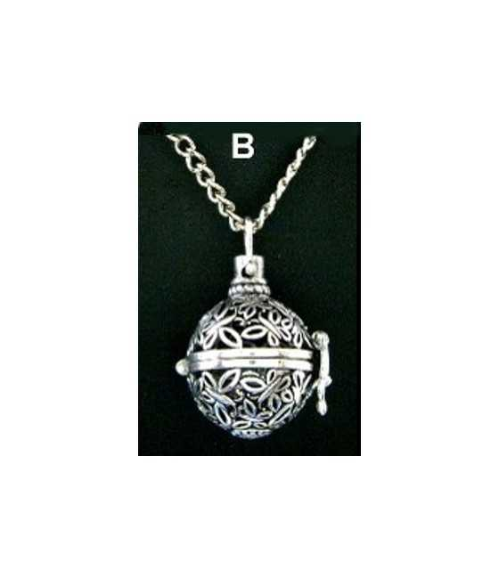 20x14mm Baseball & Glove Pewter Charm