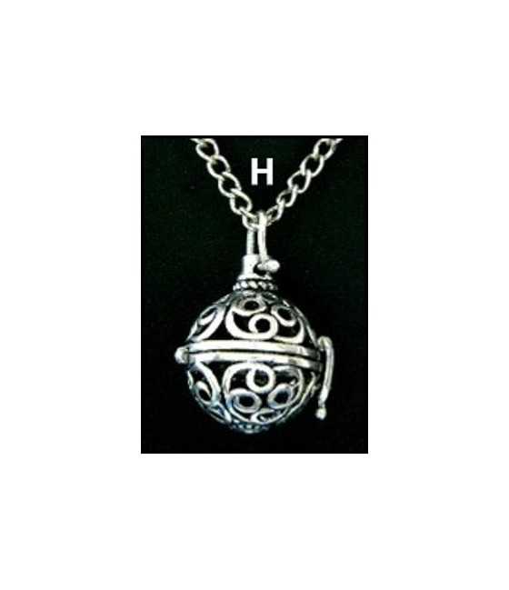15x10mm Basketball Pewter Charm