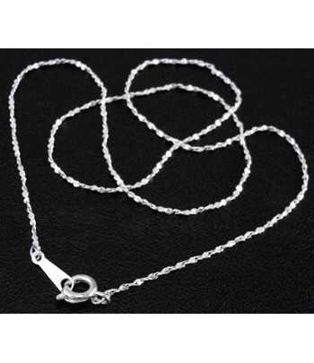 Silver 16.7 Inch Necklace...