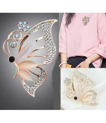 Butterfly Brooch with...
