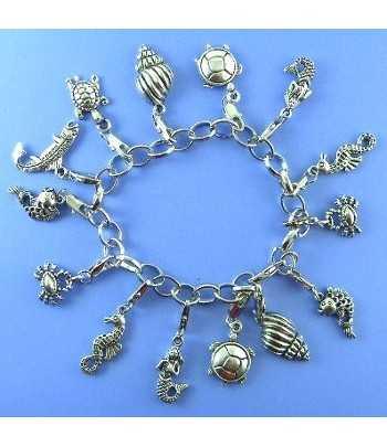 Beach Theme Charm Bracelet...