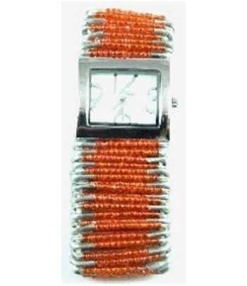 Safety Pin Watch Tangerine...