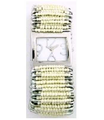 Safety Pin Watch Cream - SPW