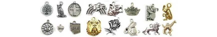 Wholesale Pewter Charms for Bracelets | Edangle Charms & More