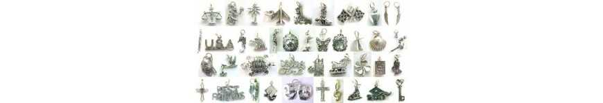 Charm Sterling Silver for Charm Bracelets | Edangle Charms & More