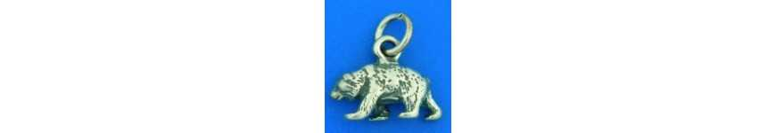 Brillant Sterling Silver Animal Charms